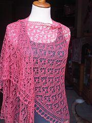 Ravelry: Betty's Faroese Shawl pattern by Tanja Luescher