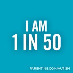 1 in 50 school-age children in America has autism. | Parenting.com