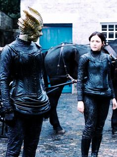 """Madam Vastra and Jenny Flint 