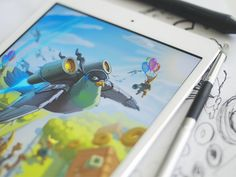 Birds iOS Game Illustration designed by Ramotion. the global community for designers and creative professionals. Game Art, Video Game, Game Ui Design, Mobile Web Design, Cute Games, Environment Concept Art, Digital Illustration, Birds, Instagram