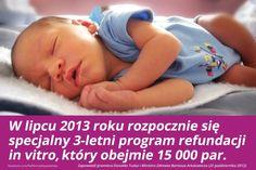 Od 2013 rusza specjalny program refundacji in vitro