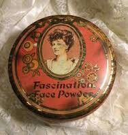 Vintage Makeup (Page - Beauty and Care - Fragrantica Club - Perfume Lovers Online Club Vintage Tins, Vintage Vanity, Etsy Vintage, Vintage Antiques, Powder Puff, Face Powder, Lipstick Case, Vintage Packaging, Tin Containers