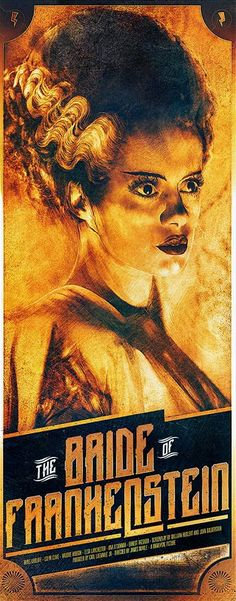 The Geeky Nerfherder: Cool Art: 'The Bride Of Frankenstein' & 'The Mummy' by Richard Davies