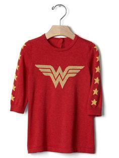 Junk Food™ Wonder Woman™ Sweater Dress ($49.95)