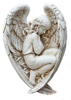 Sleeping Angel Memorial Garden Statue Ecclesiastes There is a Season for Everything. We have a few of these statue in stock. Cemetery Angels, Cemetery Statues, Cemetery Art, Angels Garden, Angel Garden Statues, Angels Among Us, Angels And Demons, Tattoo Religion, Memorial Gardens