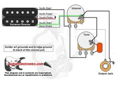 2 PU 1 Volume 1 Tone 3 Way 50's Wiring Project 24