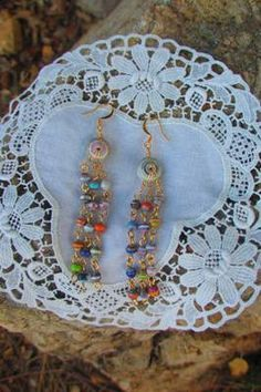 Paper Bead Buttons