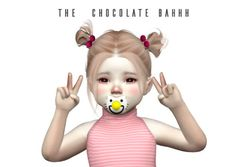 Kiddy Blush Nose & Cheeks for The Sims 4
