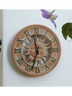 Superb Outdoor Wall Clock