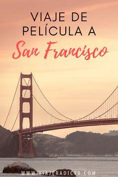 ¿Amas el cine y los viajes? Descubre los escenarios de las películas filmadas en San Francisco! #sanfrancisco #peliculas Find Quotes, San Francisco California, Travel Usa, Travel Blog, California Travel, Plan Your Trip, Golden Gate Bridge, Travel Around, West Coast
