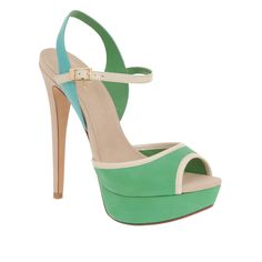 I love everything about these, except that 4+ inches makes me way too tall.    SOLIAN - women's platforms sandals for sale at ALDO Shoes.