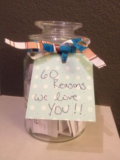 60 Reasons We Love You 60th Birthday Gift For Grandma Added An Extra One In A Different Color Paper As To Grow On