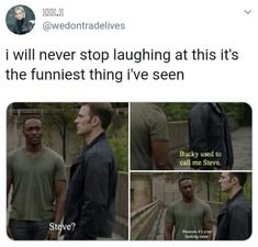 OK Elda will disappear lol (I'm not wanted eha) see y'all night night - Funny Marvel Memes, Avengers Memes, Marvel Jokes, Funny Memes, Hilarious, Marvel Dc Comics, Marvel Avengers, Marvel Cinematic Universe, Stucky