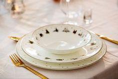 Porselensserviset Julemorgen fra Wik & Walsøe legger til noe ekstra på festbordet. Tableware, Christmas, Design, Xmas, Dinnerware, Tablewares, Navidad, Noel, Natal