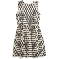 MADEWELL Modflower Dress (5,220 PHP) ❤ liked on Polyvore featuring dresses, vestidos, robes, short dresses, true black, cotton dress, floral dress, eyelet dress, floral print dress and cotton mini dress