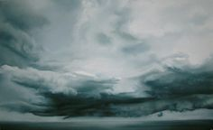 Storms- Soft Pastel on Paper- Zaria Forman.