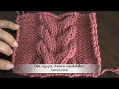 Knitting Videos, Crochet Videos, Knitting Stitches, Knitting Patterns Free, Knit Patterns, Free Knitting, Baby Knitting, Stitch Patterns, Crochet Slipper Pattern