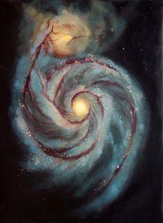 La Espiral de Andrómeda me abraza.