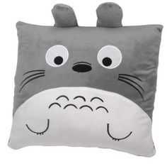 Amongst the hot seller list in the Totoro niche, this Totoro cushion is soft, cuddly and super cute to look at! Perfect as a gift for Totoro fans or for hugging while you watch more anime! Red Throw Pillows, Soft Pillows, Totoro Pillow, Plush Pillow, Totoro Merchandise, Pom Poko, Diy Cushion, Cushion Pillow, Red Pictures