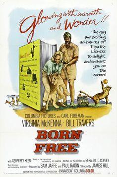 """La Leona de Dos Mundos"" (""Born Free"", 1966). Dir. James Hill. Stars: Virginia McKenna, Bill Travers, Geoffrey Keen."