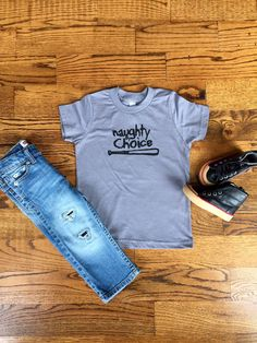 Naughty by Choice Onesie & TShirt - Unisex, Baby, Toddler by…