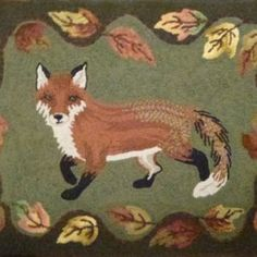 Woolley Fox (42 x 30) | WoolleyFox