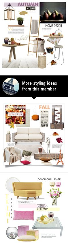 """Autumn Kitchen"" by rever-de-paris on Polyvore featuring interior, interiors, interior design, home, home decor, interior decorating, Bardwil, French Connection, Eva Solo and Skagerak"
