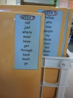 My Second Sense: Word Wall