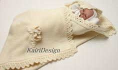 Knitting pattern of baby blanket by BabyKnittingsWorld on Etsy