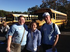 Getting ready to head out for #SharingSmiles! Thank you Megan, Dave and Ariel for volunteering today!