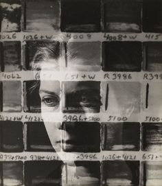 Maya Deren, Portrait of Carol Janeway, 1943. Gelatin silver print. Not on view?? at MoMA.