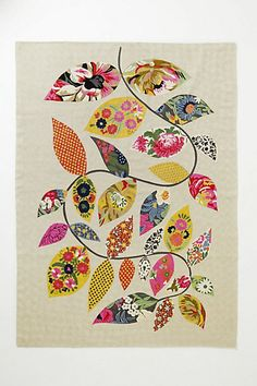 Anthropologie Embroidered Herati Vine Rug, $448.00