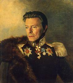 Bowie. Steve Payne-Digital Artist.