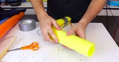 The popular YouTuber Crazy Russian Hacker shows us 13 insanely clever ways to use a pool noodle...