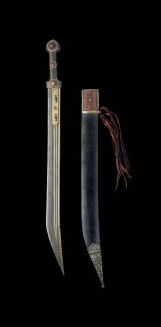 AN INSCRIBED OX-HORN HILTED DAGGER (KINJAL) - IRAN, 19TH CENTURY