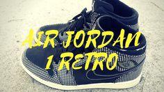 wholesale dealer d4ebf 49afc Nike Air Jordan Retro 1 Polkadot Black   White On Feet