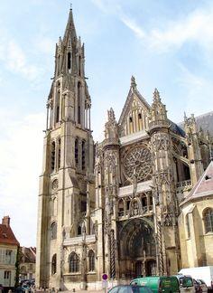 Cathédrale Notre-Dame, Senlis, Picardy, France