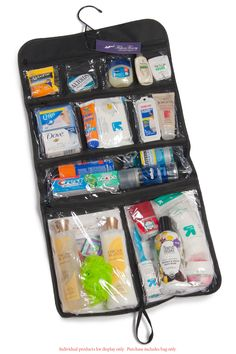 Our hanging toiletry bag is a must have for travel. After years of looking for…