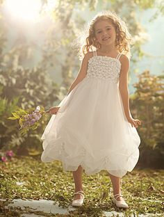 Disney Blossoms by Alfred Angelo Style #709 for your little Rapunzel #AlfredAngelo www.alfredangelo.com