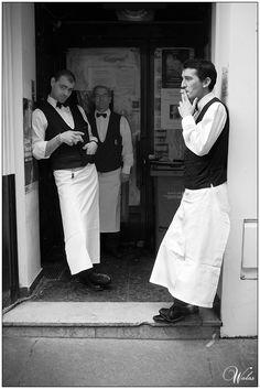 Break time at Café de Flore by Maud Walas, via 500px
