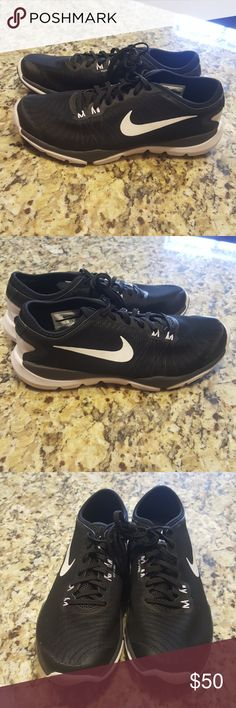 WOMENS NIKE WOMENS FLEX SUPREME TR4 #819026-002 Tackle your workout like a champ in the updated Nike® Women's Flex Supreme TR 4 training shoe. Flex technology allows your foot to move naturally, ensuring your stay flexibly and comfortable. An adaptive midfoot strap offers supreme midfoot support.Hexagonal flex grooves enhance mobility, while the rubber outriggers increase lateral stability and overall support during wear.(USED)SOLE DIRTY UPPER PART OF SNEAKER PERFECT CONDITION PLEASE REVIEW…