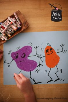 crafts for kids: Kids drawing lesson: dancing shapes || Classic Play