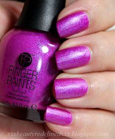 Finger Paints Gorgeous Graffiti Painting Cool Nail Designs Care Beauty