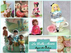 """La Belle Aurore  - Cake Deluxe """"Sugar Art"""""""