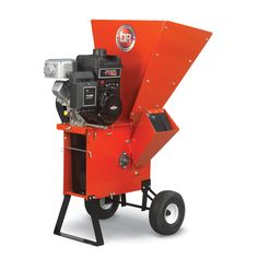 "DR Wood Chipper Shredder 11.5 Manual- or Electric-Start We gave the 11.5 Chipper Shredder 20% more power than our entry model, and we offer a pin-hitch kit option for towing it around your property. It will devour 4"" branches with ease, and shred 3/4"" thick yard waste. #drpower #woodchipper"
