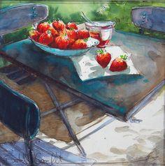 Galerie A Table | Isabelle Corcket | Aquarelliste
