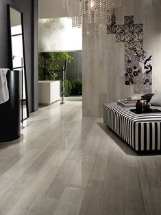 """polished porcelain floor    No. 4 Collection  VisitStore»  Rectified Semi-Polished Porcelain. Available in 12""""x35"""", 8""""x35"""", and 6""""x35"""". Collection includes five color-ways.  Floor Tiles   Contemporary   Toronto"""
