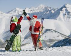 grinch on a snowboard    ... Westboro Metrowest Ski & Snowboard Christmas Deals   The Ski Barn