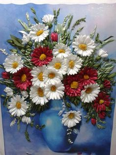 Wonderful Ribbon Embroidery Flowers by Hand Ideas. Enchanting Ribbon Embroidery Flowers by Hand Ideas. Brazilian Embroidery Stitches, Types Of Embroidery, Learn Embroidery, Silk Ribbon Embroidery, Hand Embroidery Patterns, Embroidery Kits, Embroidery Designs, Embroidery Supplies, Ribbon Art