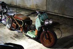 Hill Billy themed Honda Ruckus at NUrotag Orlando...photo by Scott Hazzard at Altered Posture